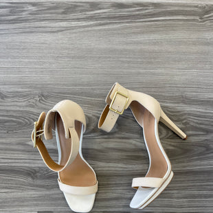 Primary Photo - BRAND: CALVIN KLEIN STYLE: SHOES HIGH HEEL COLOR: BEIGE SIZE: 10 SKU: 174-174109-3941