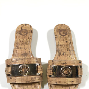 Primary Photo - BRAND: G BY GUESS STYLE: SANDALS LOW COLOR: WOOD SIZE: 7 SKU: 172-172166-62483