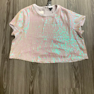 Primary Photo - BRAND: TORRID STYLE: TOP SHORT SLEEVE COLOR: SEQUIN SIZE: 2X OTHER INFO: NEW! SKU: 172-172166-73798