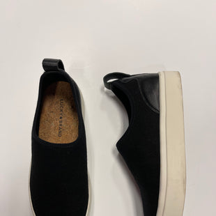 Primary Photo - BRAND: LUCKY BRAND STYLE: SHOES ATHLETIC COLOR: BLACK SIZE: 8.5 SKU: 172-172251-4180