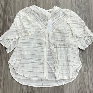 Primary Photo - BRAND:    CLOTHES MENTOR STYLE: TOP SHORT SLEEVE COLOR: STRIPED SIZE: S OTHER INFO: CURRENT AIR - SKU: 172-17215-78664