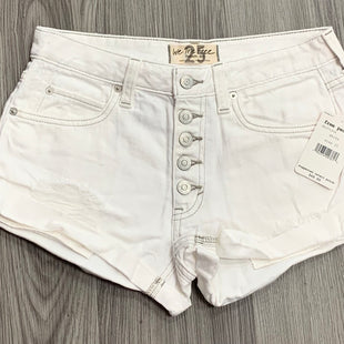 Primary Photo - BRAND: WE THE FREE STYLE: SHORTS COLOR: DENIM WHITE SIZE: 0 OTHER INFO: NEW! SKU: 172-172170-76642