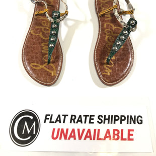 Primary Photo - BRAND: SAM EDELMAN STYLE: SANDALS FLAT COLOR: MULTI SIZE: 7.5 OTHER INFO: AS IS SKU: 172-172240-2726