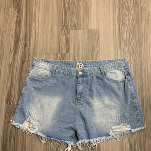 Primary Photo - BRAND: SHEIN STYLE: SHORTS COLOR: DENIM SIZE: 4X SKU: 172-172166-72630