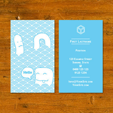 B010896 business card printing reheart Gallery
