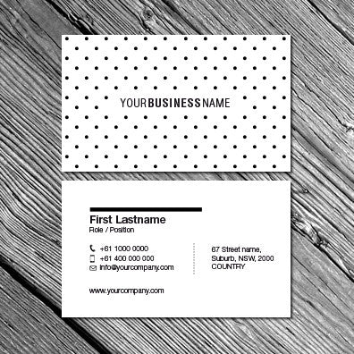Image of business card designs B010900