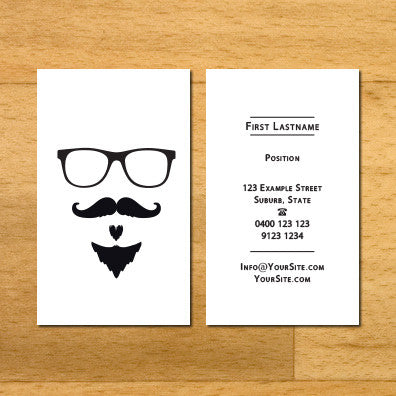 Image of business cards sydney design B010902