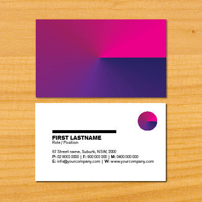 Image of business card design B010904