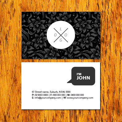 Image of business card design B010905