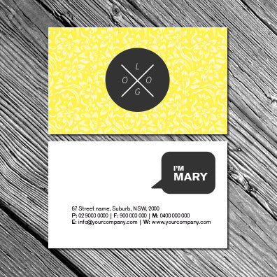 Image of business card design B010908