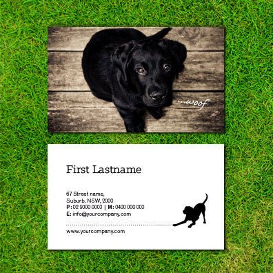 Image of business card design B010909