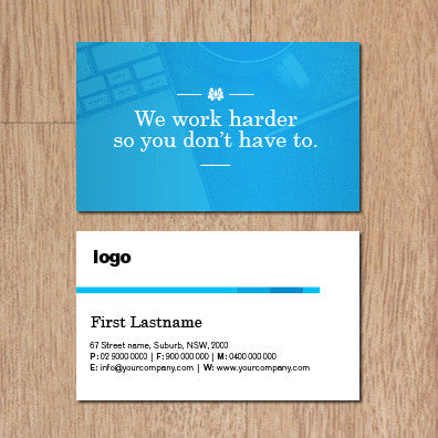 Image of business card design B010911