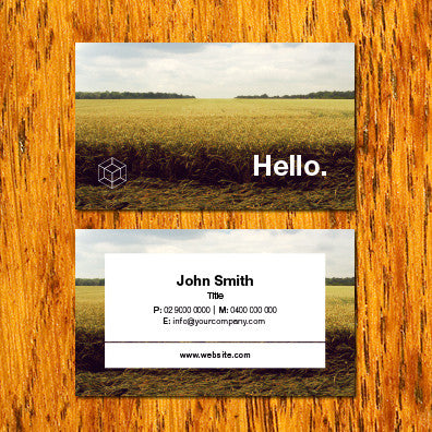 Image of business card design B010913
