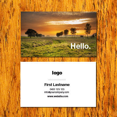 Image of business card design B010916