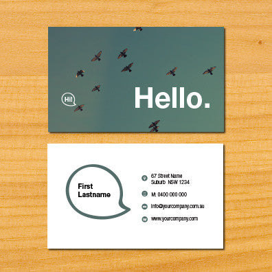 Image of business card design B010917