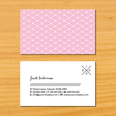 Image of business card design B010918