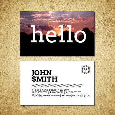 Image of business card design B010920