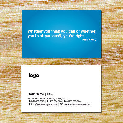 Image of business card design B010921