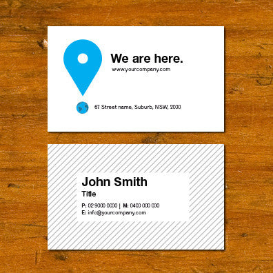 Image of business card design B010923