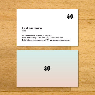 Image of business card design B010924