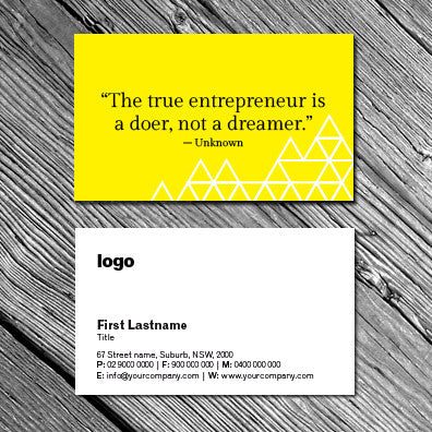 Image of business card design B010925