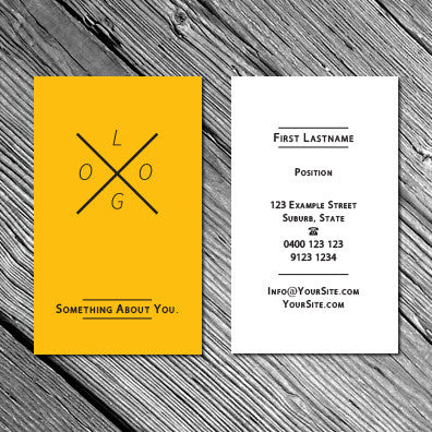 Image of business card design B010926