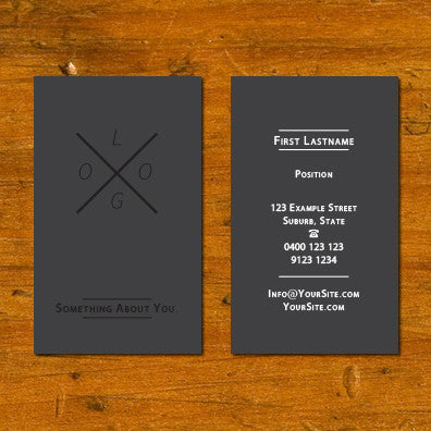 Image of business card design B010928