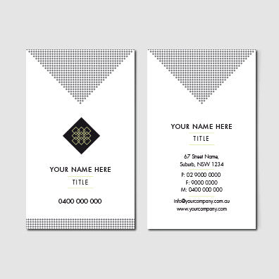Image of business card design B010935