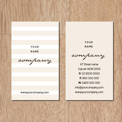Image of business card design B010939