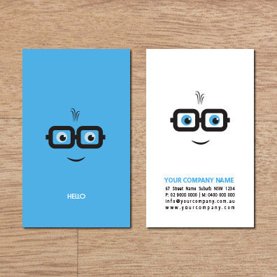 Image of business card design B010945