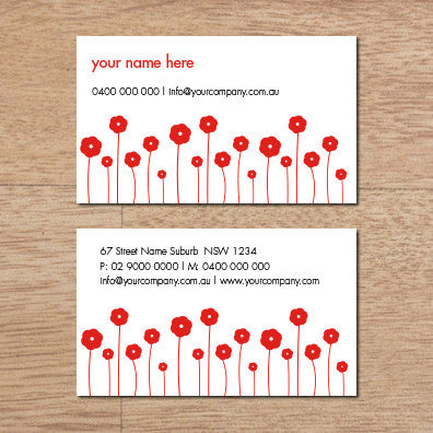 Image of business card design B010947