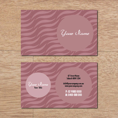 Image of business card design B010957