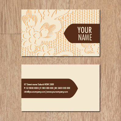 Image of business card design B010960