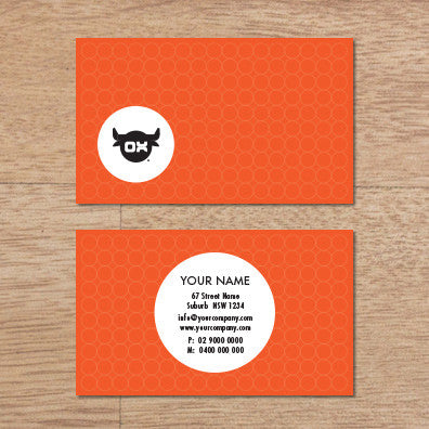 Image of business card design  B010962