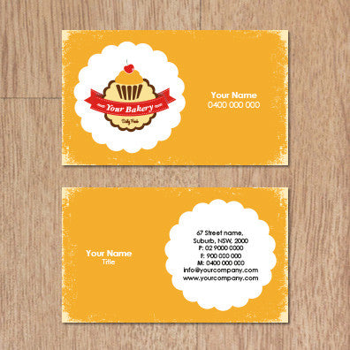 Image of business card design  B010963