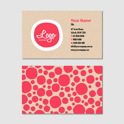 Image of business card design  B010964
