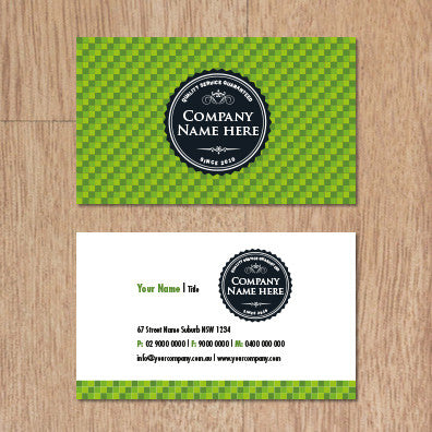Image of business card design  B010968