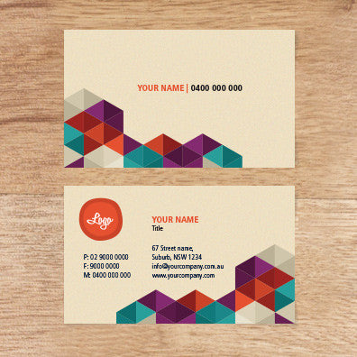 Image of business card design  B010969
