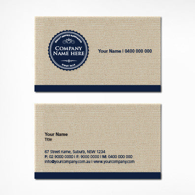 Image of business card design  B010970