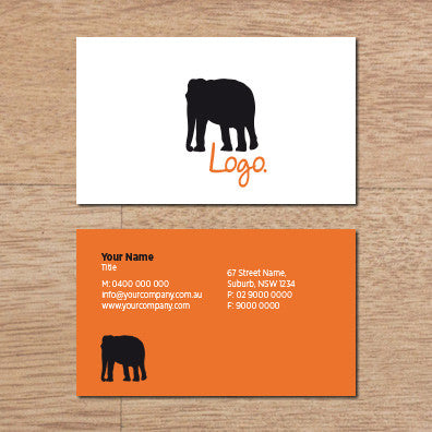 Image of business card design  B010971