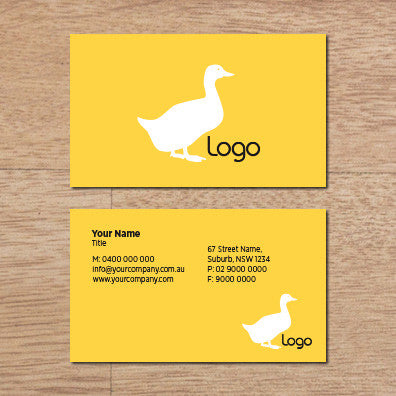 Image of business card design  B010972