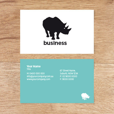 Image of business card design  B010974