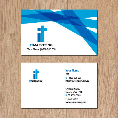 Image of business card design  B010975