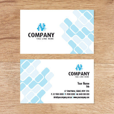 Image of business card design  B010977