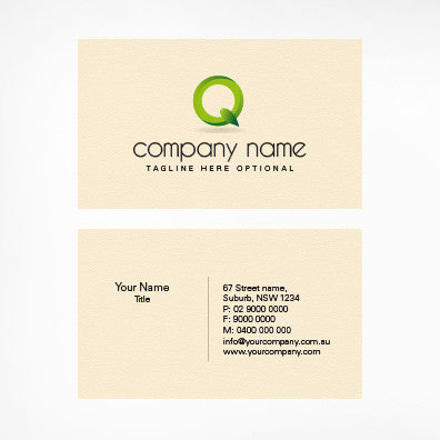 Image of business card design  B010978