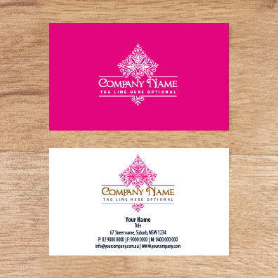 Image of business card design  B010979