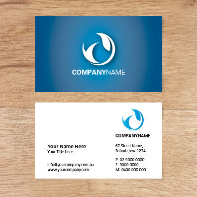 Image of business card design  B010983