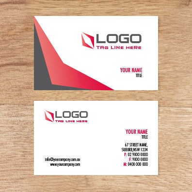 Image of business card design  B010984