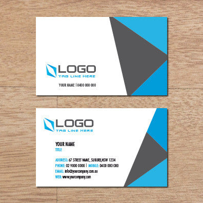 Image of business card design  B010986