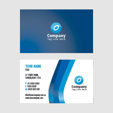 Image of business card design  B010988